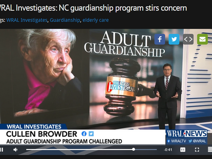 Rethinking Guardianship featured on WRAL last Wednesday!