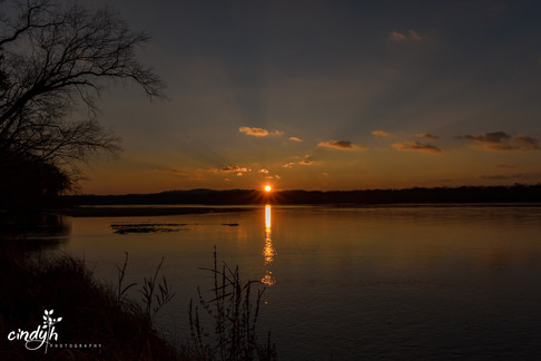 Wisconsin River Sunset