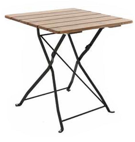 Table Max noire 70X70CM