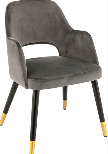 Fauteuil Constance anthracite