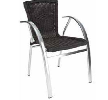 Chaise Saint Tropez noire