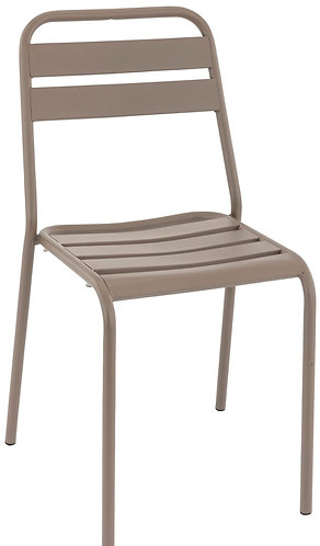 Chaise Bastille taupe
