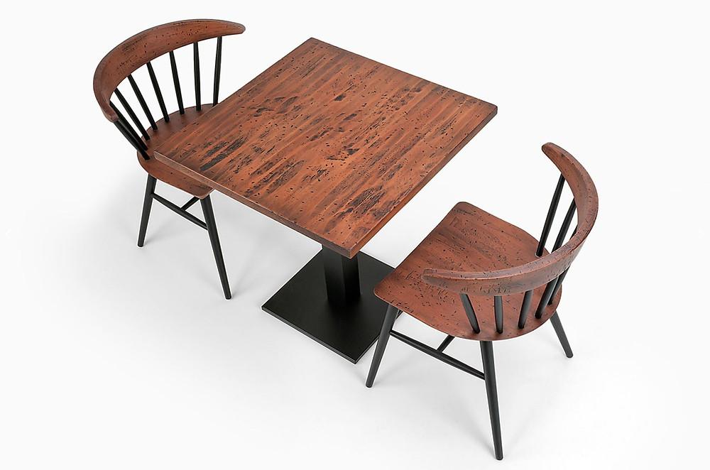 meubles style industriel pour restaurant CHR