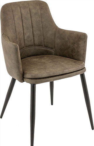 Fauteuil Karol olive