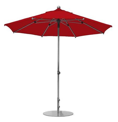 Parasol professionnel Prosun rond Ø 270 cm ROUGE