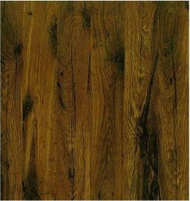 Plateau de table Werzalit Antique Brown 316 70x70