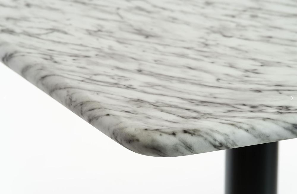 plateau de table effet marbre