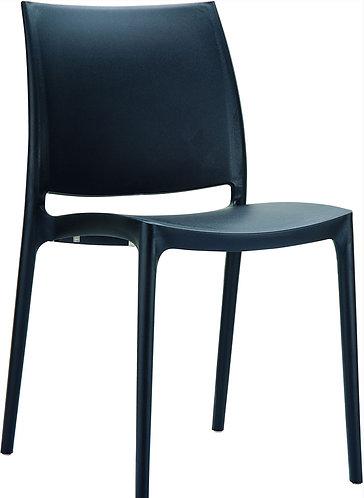 Chaise Maya noire