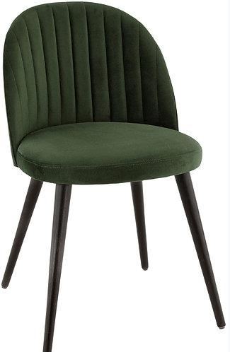 Chaise Emile vert forêt.