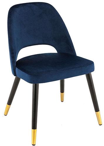 Chaise Montreux bleu nuit