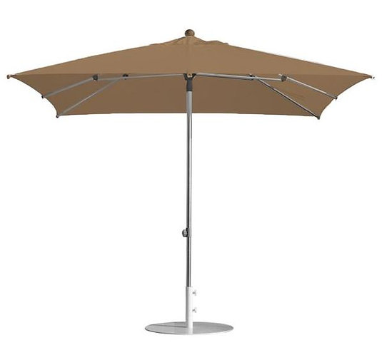 Parasol professionnel  carré 200 x 200 - MARRON