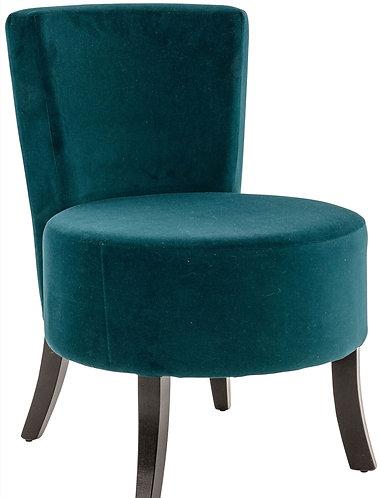 Fauteuil Lounge XL bleu canard