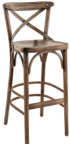 Tabouret  Sofia french patina
