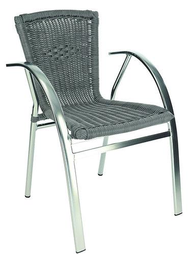 Chaise Saint Tropez gris pierre