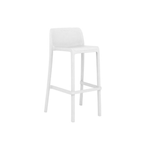 Tabouret Attic mini blanc