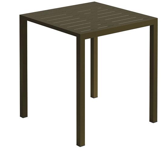 Table Vintage acier 70X70 Noire (délai de livraison de 15 jours)