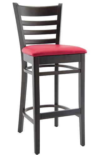 Tabouret Pub rouge