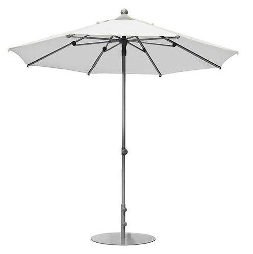 Parasol professionnel Prosun rond Ø 270 cm BLANC