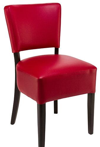 Chaise Floriane bordeaux