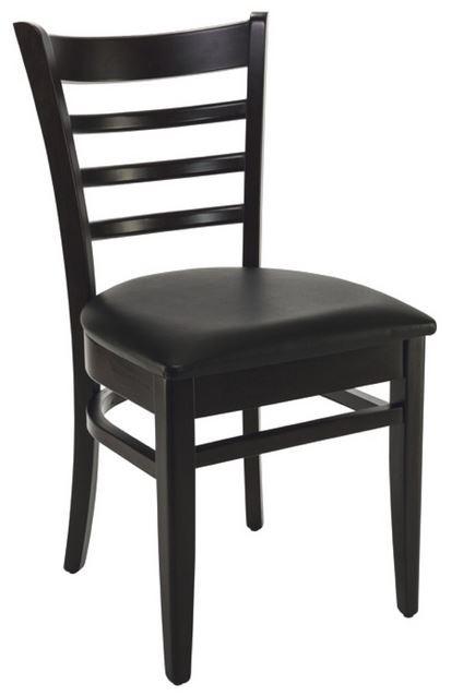 chaise pub noir en stock fournisseur mobilier professionnel restaurant table chaise pour chr. Black Bedroom Furniture Sets. Home Design Ideas