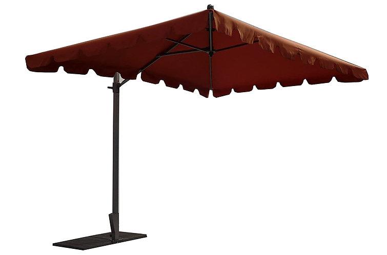 Parasol déporté Allégro 300 x 200 terracotta