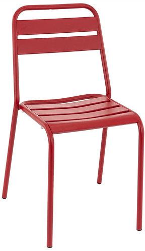 Chaise Bastille rouge