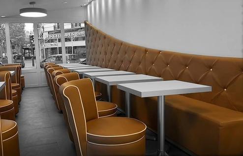 banquette sur mesure restaurant