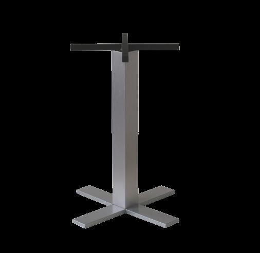 Pied de table aluminium Pétrus (délai de livraison 2 semaines)