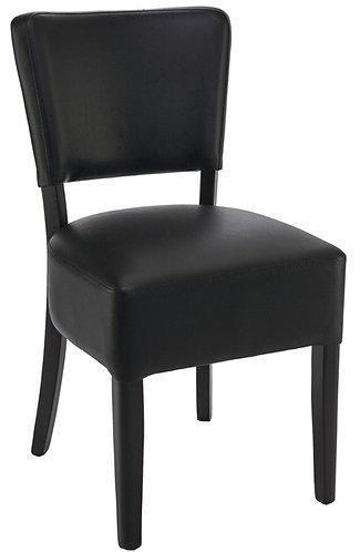 Chaise Floriane noire