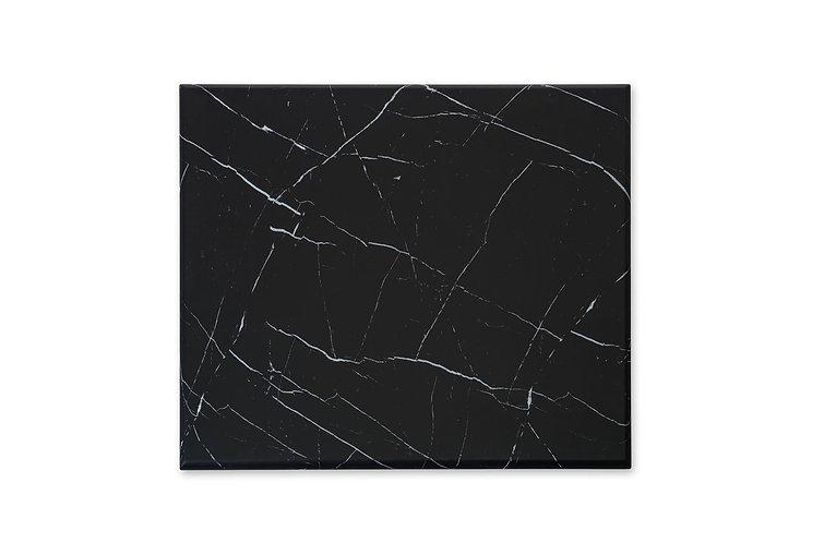 Plateaux type marbre noir (délai de livraison 4-5 semaines)