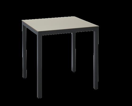 Table cosmos aluminium (délai livraison 2 semaines)