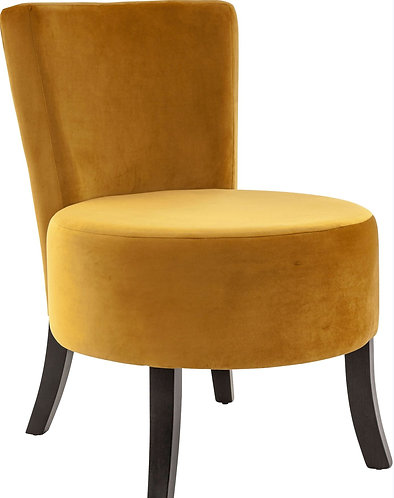 Fauteuil Lounge XL moutarde