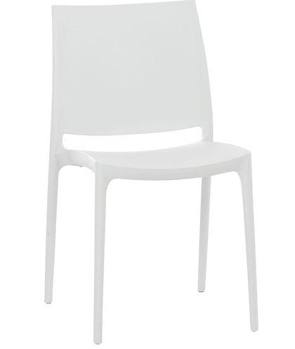 Chaise Maya blanche