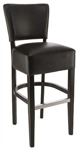 Tabouret de bar Floriane noir