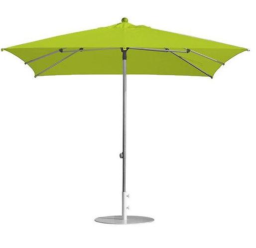 Parasol professionnel  carré 200 x 200 - TILLEUL