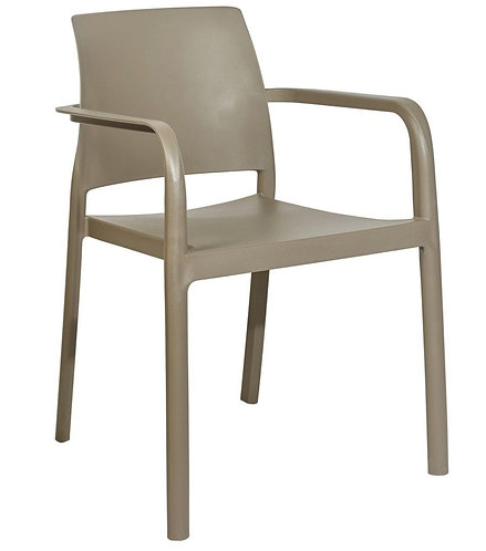 Fauteuil Dock taupe