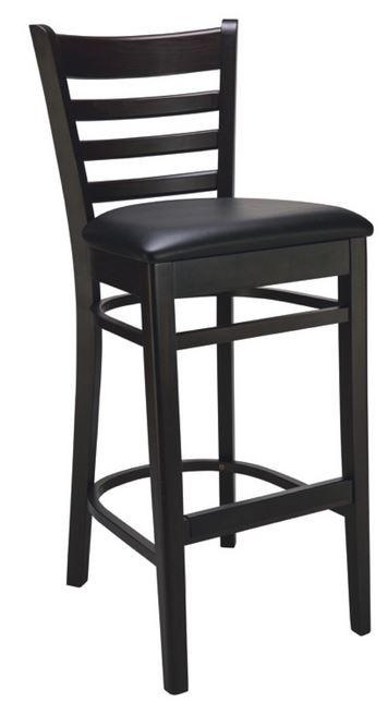 tabouret pub noir fournisseur mobilier restaurant professionnel table chaise restaurant. Black Bedroom Furniture Sets. Home Design Ideas