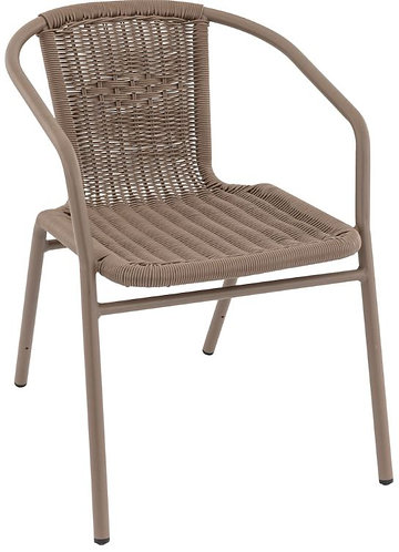 Chaise Bilbao taupe