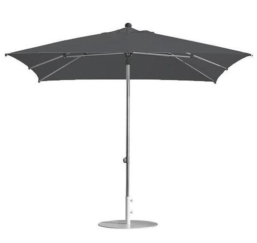Parasol professionnel toile acrylique carré 300 x 400 - ANTHRACITE