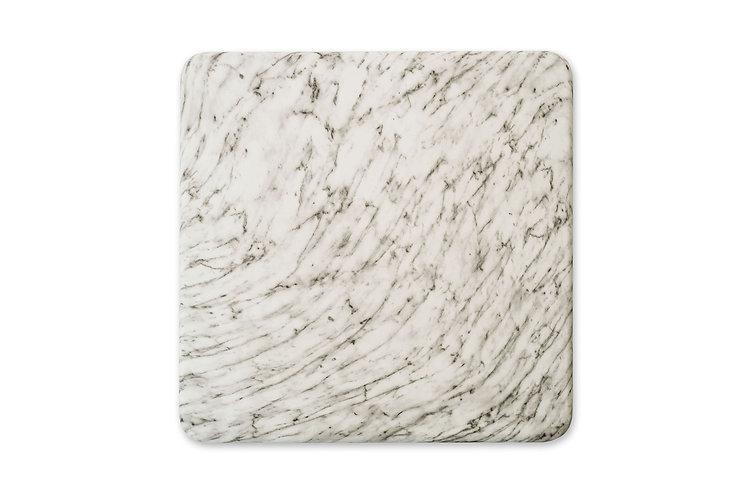 Plateaux type marbre blanc (délai de livraison 4-5 semaines)
