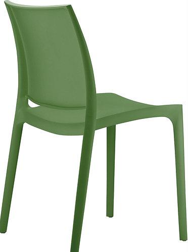 Chaise Maya olive