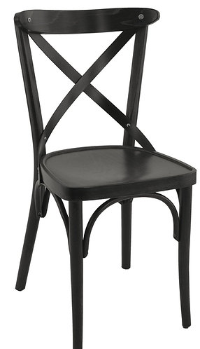 Chaise Sofia assise noire