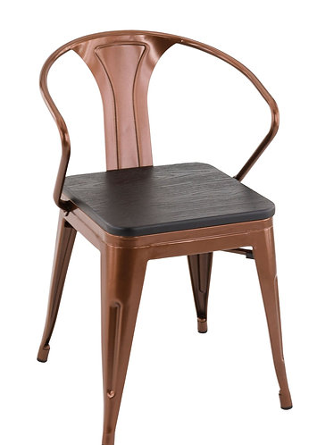 Fauteuil Gaston copper