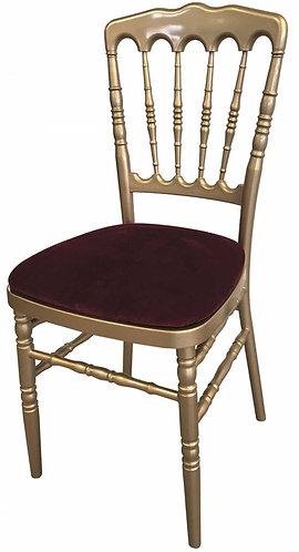 Chaise Napoléon Doré