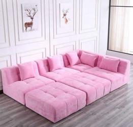 Canapé modulable pour hotel