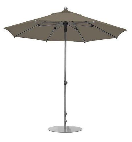 Parasol professionnel Prosun rond Ø 270 cm TAUPE