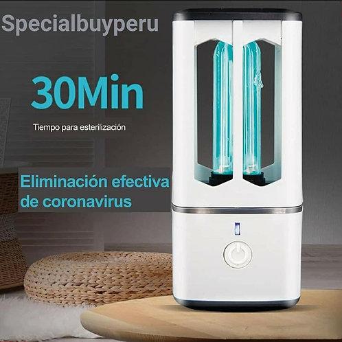 LAMPARA PORTATIL UVC + OZONO