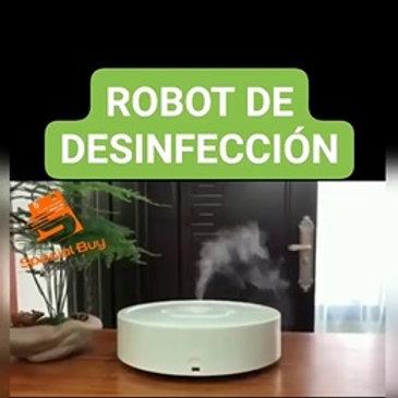 ROBOT DESINFECCIÓN UV + HUMIFICADOR