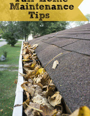 FIVE FALL MAINTENANCE TIPS