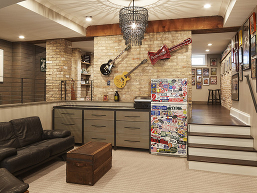 CREATE YOUR DREAM MAN CAVE